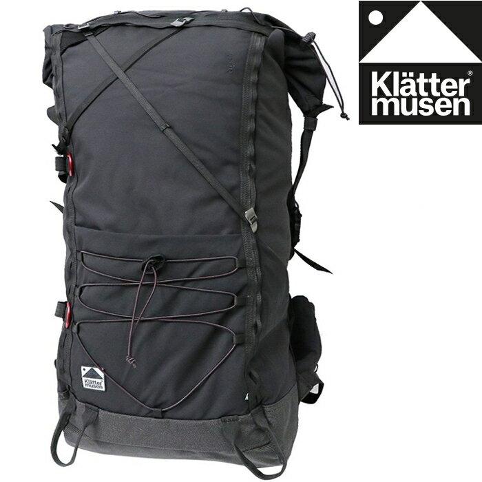 Klattermusen 攀山鼠 登山背包/健行背包/中背包/背包客 Grip 40L KM40331U 渡鴉黑