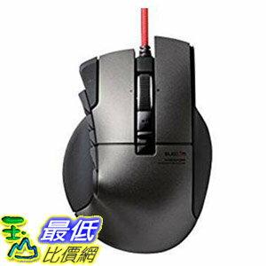 [107東京直購] ELECOM M-DUX50 遊戲滑鼠 14按鍵 四向滾輪