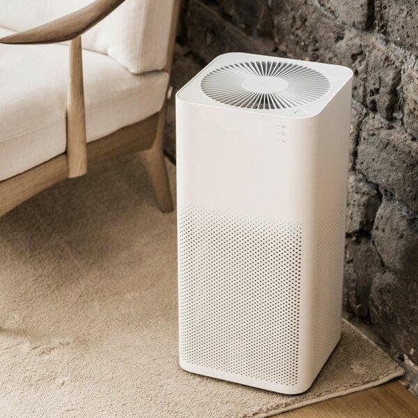 【限時下殺↘3399ATM限定】小米空氣淨化器2空氣清淨機2代智能控制PM2.5贈轉接頭