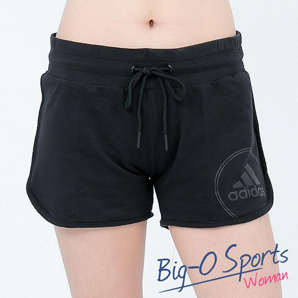 ADIDAS 愛迪達 LOGO SHORT  休閒短褲 女 AJ6351 Big~O Sp