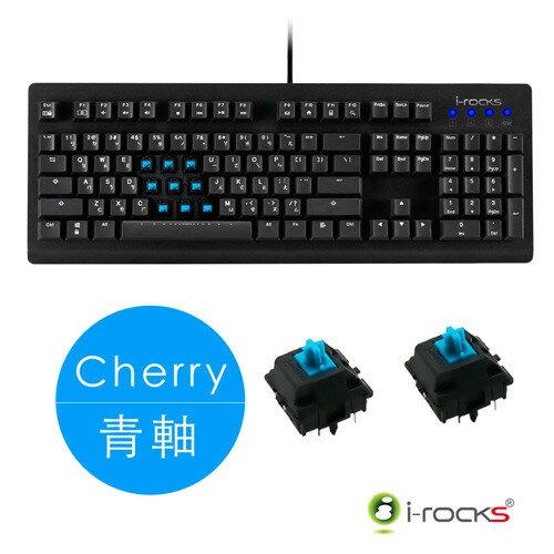 【迪特軍3C】i-RocksK65MNcherry青軸+IRM09鍵盤滑鼠組M09滑鼠2年保固IRK65MN電競鍵盤遊戲鍵盤