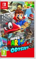 Super Mario Odyssey (Nintendo Switch, 2017) Brand New Region Free Import