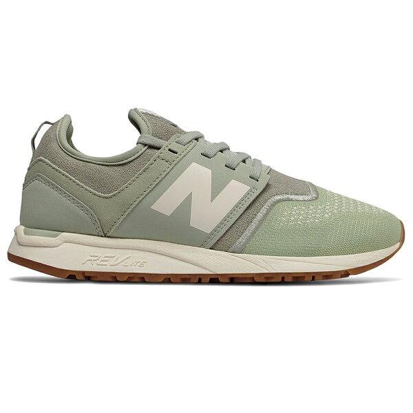 NewBalance247女鞋慢跑休閒針織輕量橡膠外底透氣綠【運動世界】WRL247TC