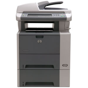 HP LaserJet M3035XS Laser Multifunction Printer - Monochrome - Plain Paper Print - Floor Standing - Copier/Fax/Printer/Scanner - 35 ppm Mono Print - 1200 x 1200 dpi Print - Automatic Duplex Print - 35 cpm Mono Copy - 1 x Input Tray 500 Sheet, 1 x Multipur 1