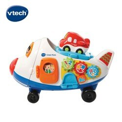 ★Vtech系列滿$1999再送收納箱★美國【Vtech】嘟嘟車系列-酷炫巨無霸飛機軌道組