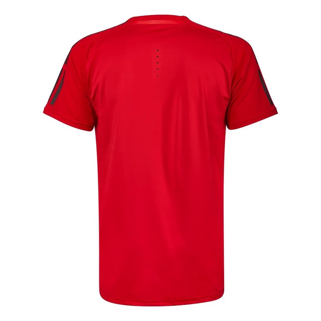 18SS ADIDAS 男款 短袖 網球T恤 BARRICADE TEE系列 CD4994 紅色【樂買網】