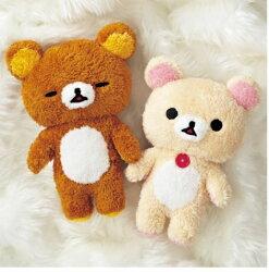 X射線【C003898】懶熊Rilakkuma 絨毛娃娃景品,絨毛/填充玩偶/玩具/公仔/SAM-X/牛奶熊/小雞/拉拉熊