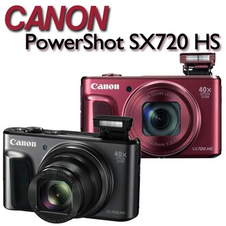 【送16G記憶卡+副電(含盒內原電共2)+清潔好禮組】Canon PowerShot SX720 HS【公司貨】ATM/黑貓貨到付款 加碼送專用鋰電池