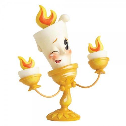X射線【C930499】美女與野獸-Q版盧米亞Lumiere燭台塑像,迪士尼/收藏/擺飾/禮品/禮物/限量/公主/娃娃/玩偶/公仔
