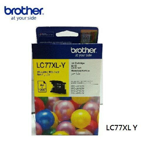 brother LC77XL-Y原廠高容量黃色墨水匣