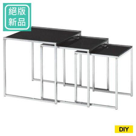 (絕版新品)邊桌3件組 ICE BF-5792 0