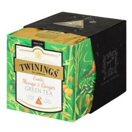 Twinings 唐寧茶 鉑金系列 薑芒綠茶狂想曲茶(2gx15入茶包)