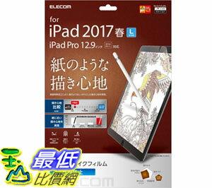 [6東京直購] ELECOM 擬紙感保貼 TB-A17LFLAPL 適用 12.9吋 iPad Pro 紙質防反光_Z11