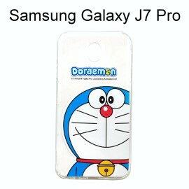 哆啦A夢空壓氣墊軟殼[大臉]SamsungGalaxyJ7Pro(5.5吋)小叮噹【正版授權】