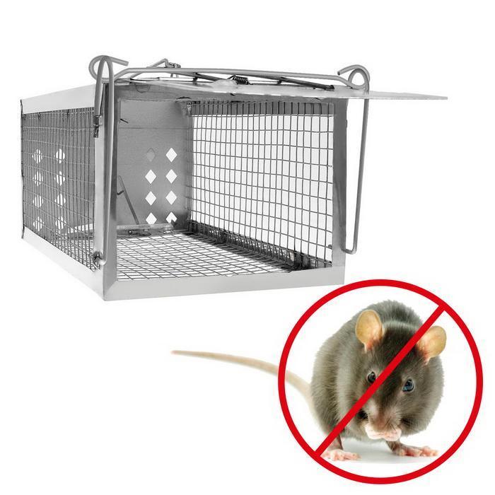 One Door Sensitive Pedal Mousetrap Cage 2