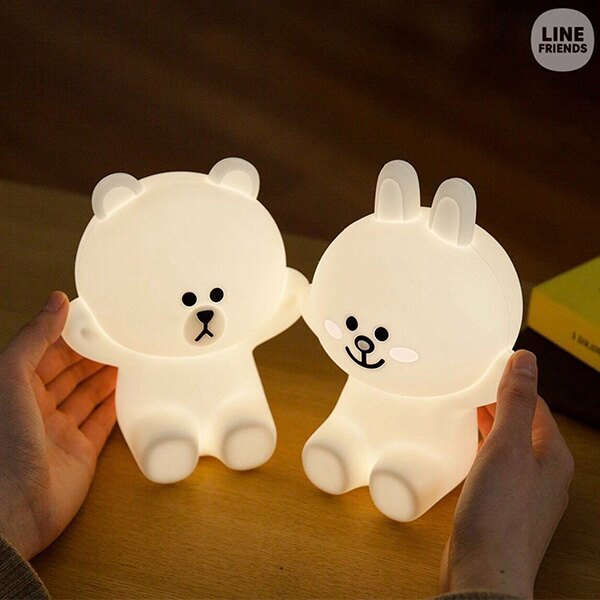 【熊大+兔兔】LINE觸控夜燈
