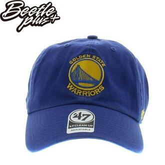 BEETLE 47 BRAND 老帽 金州 勇士 GOLDEN STATE WARRIORS DAD 總冠軍 NBA 藍 MN-416