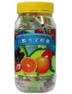 六鵬 維他命水果軟糖 80G【德芳保健藥妝】
