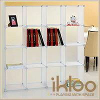 【ikloo】diy家具16格收納櫃 / 組合櫃 0