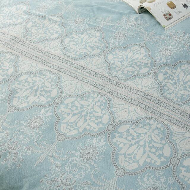天絲床組  青色波斯王子  多種尺寸組合賣場 100%木漿纖維 5