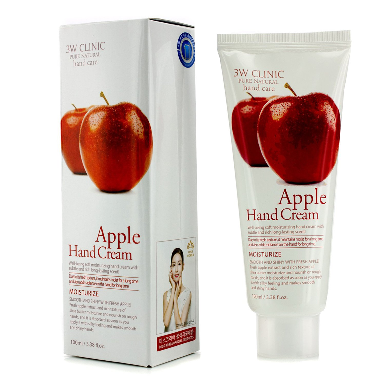 3W Clinic - 護手霜 - 蘋果Hand Cream - Apple