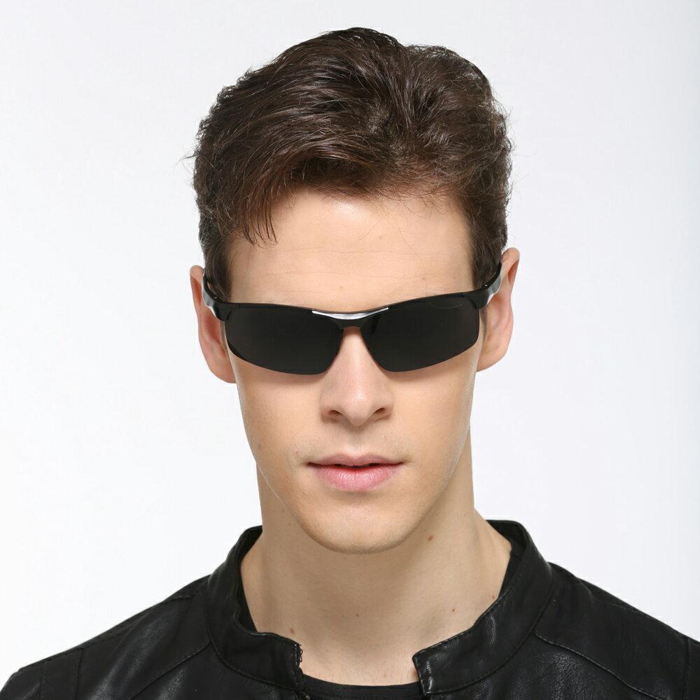 <br/><br/>  Posma SGS-001-GD 百搭潮流★男用戶外活動鋁鎂架太陽眼鏡<br/><br/>