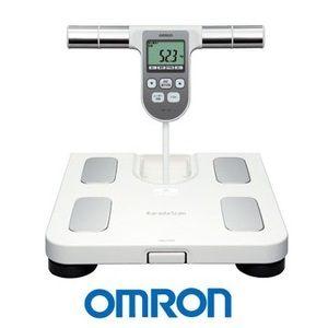 OMRON歐姆龍體重體脂肪計HBF-370(白色),限量加贈歐姆龍運動毛巾及專用提袋