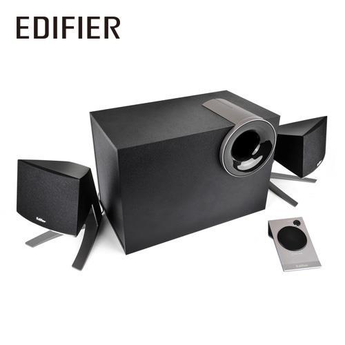 [喬傑數位]EDIFIER M1380喇叭(三件式/黑色)