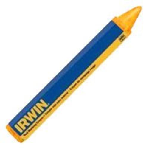"""Irwin 66406 Lumber Crayon, Yellow, 4-1/2 x 1/2"""""""