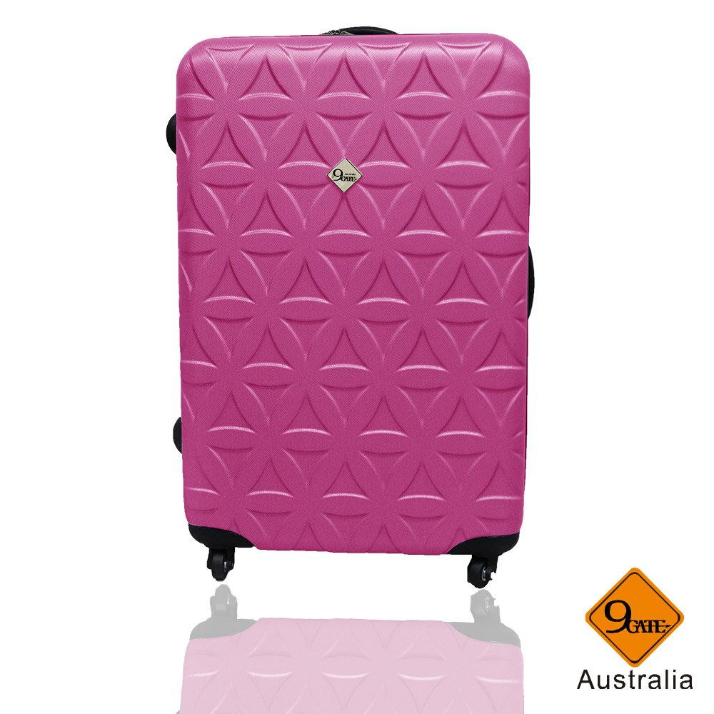 Gate9花花系列ABS霧面28吋輕硬殼旅行箱 / 行李箱 5