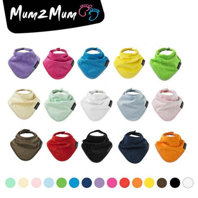 MUM 2 MUM 機能型神奇三角口水巾圍兜(顏色隨機出貨)【德芳保健藥妝】