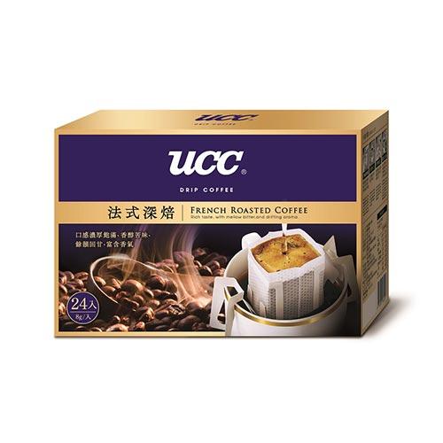 UCC法式深焙濾掛式咖啡8g*24【愛買】