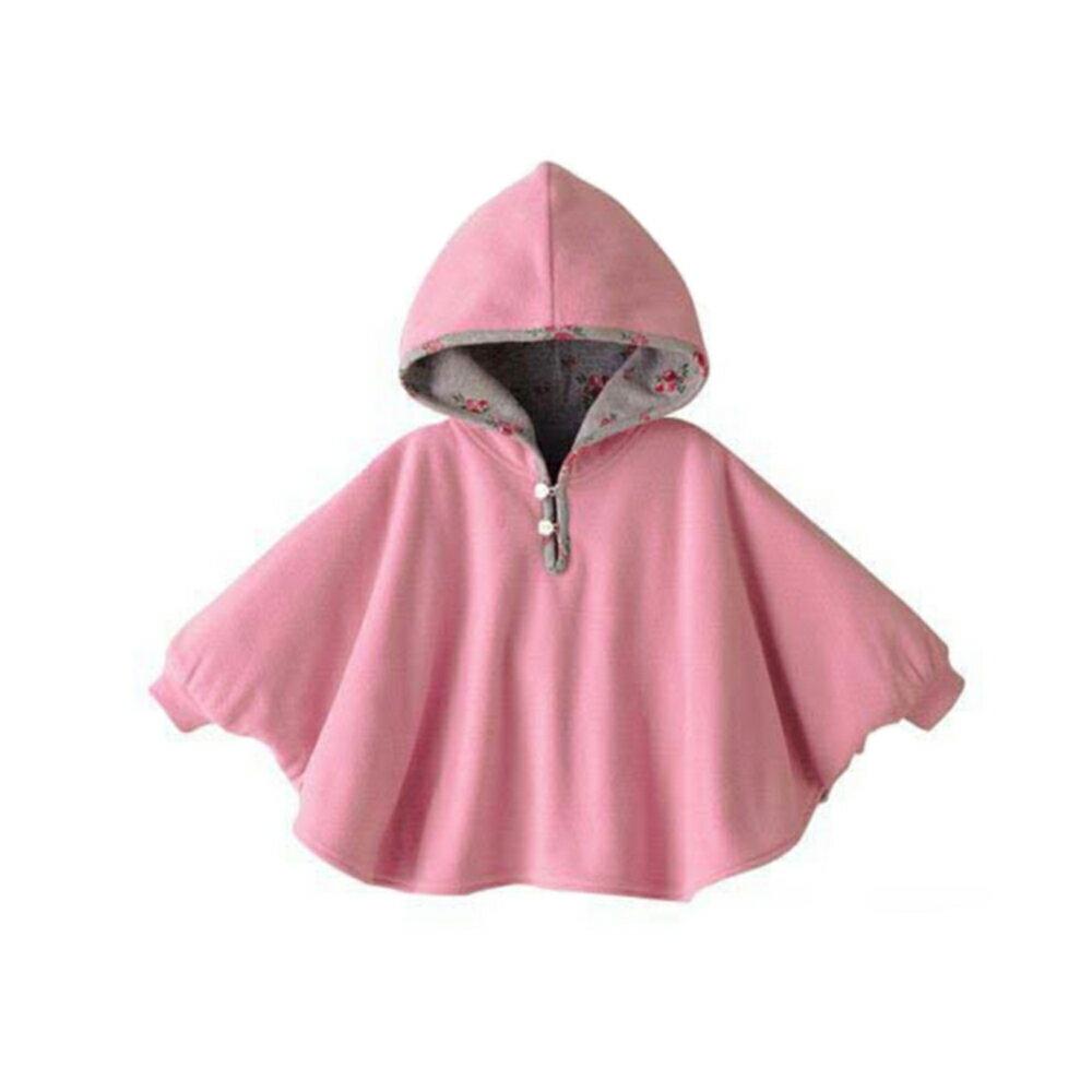 外套童裝-連帽外套三層斗篷保暖披風兩面可穿-JoyBaby