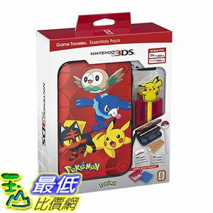 [106 美國直購] Nintendo 3DS Pokemon Sun & Moon Starter Kit with Pokemon Group and Pikachu Stylus for Nin..