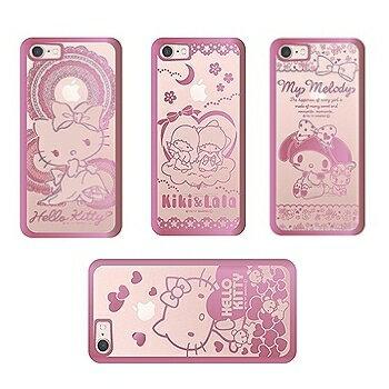 ~Sanrio~APPLE iPhone 7  4.7吋  玫瑰金系列 電鍍保護軟套