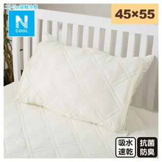 接觸涼感 枕頭保潔墊 45×55 N COOL T IV 17 NITORI宜得利家居
