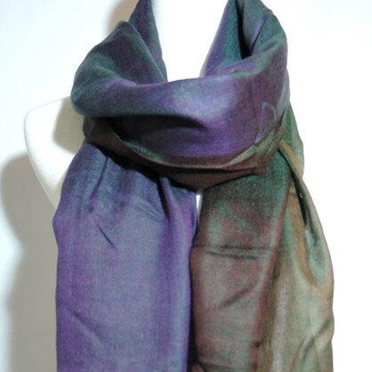 【喀什米爾圍巾】100%Pashmina鑽石編織珠光CASHMERE圍巾-(W10EIN010)