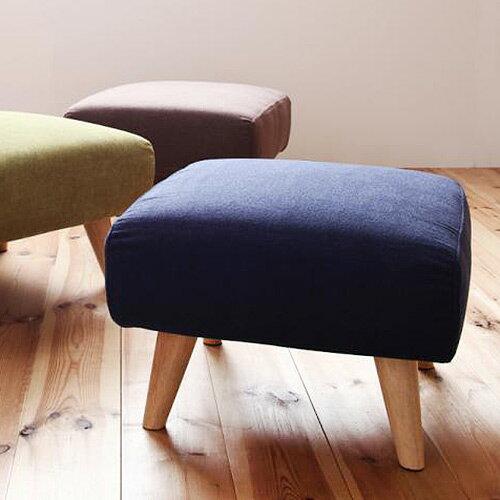 JP Kagu 日系可拆洗摩登 布質矮沙發椅凳 三色
