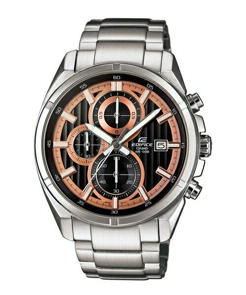 CASIO EDIFICE EFR-532D-1A5魅力賽車流行時尚腕錶/黑面43.5mm
