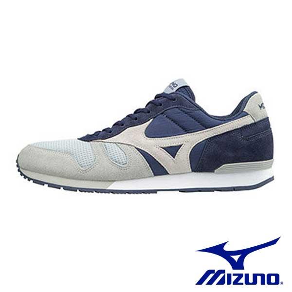 【MIZUNO促銷7折│全店免運】MIZUNO(男)1906ML87休閒款慢跑鞋灰x深藍-D1GA170305