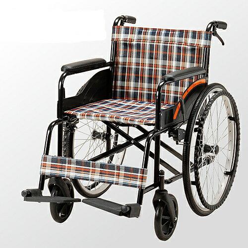 均佳 鐵製機械式輪椅 (未滅菌) JW-001