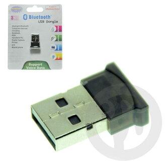 【Playwoods】[3C週邊/周邊]USB插孔 Mini無線藍牙接收器/藍芽B(USB2.0/PDA/PC/Phone-可支援Vista/聲檔)