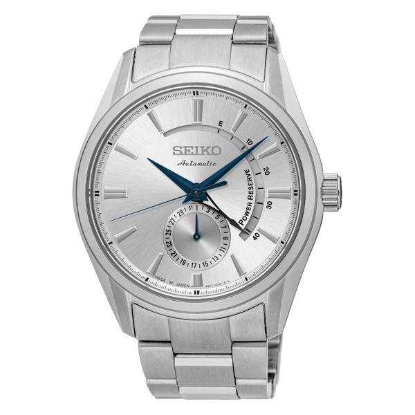 Seiko Presage 4R57-00A0S SSA303J1 動力儲存機械腕錶  白