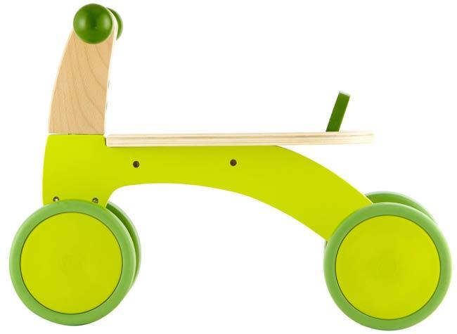 德國 Hape愛傑卡 四輪轉轉玩具車/學步車/嚕嚕車