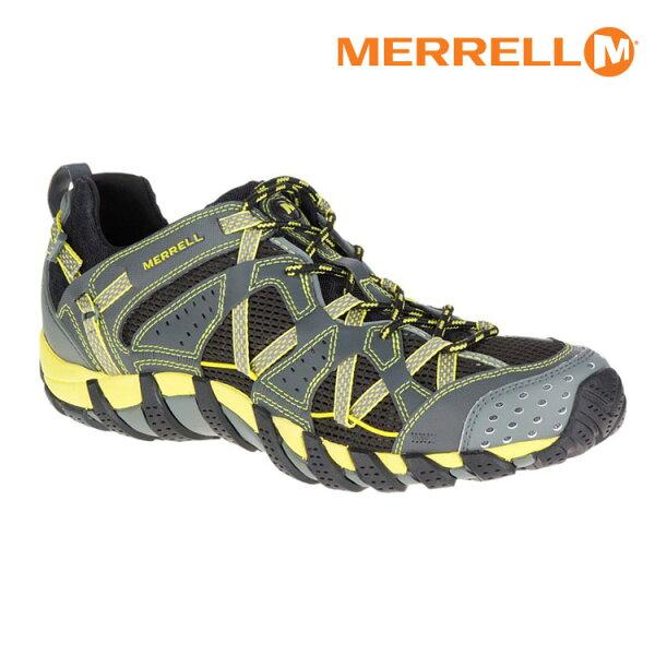 MERRELL男WATERPROMAIPO水陸兩棲運動鞋ML37769城市綠洲(防臭抗菌、黃金大底、越野、透氣、避震)