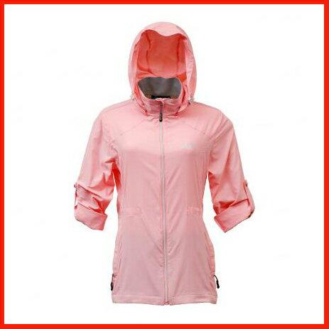 女抗UV單層風衣 桃粉紅 3453 - 限時優惠好康折扣