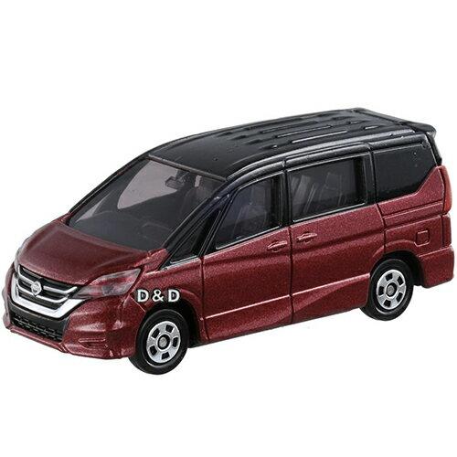 《 TOMICA 火柴盒小汽車 》TM094 日產 NISSAN SERENA