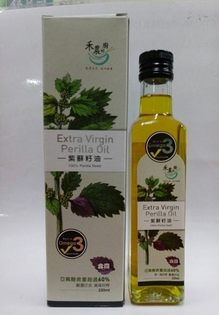 鏡感樂活市集:買2送1禾農紫蘇籽油(紫蘇油)250ml瓶亞麻酸含量超過60%活動至1130
