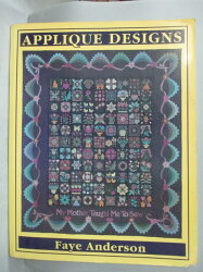 【書寶二手書T4/設計_QIM】Applique Designs: My Mother…_Faye Anderson
