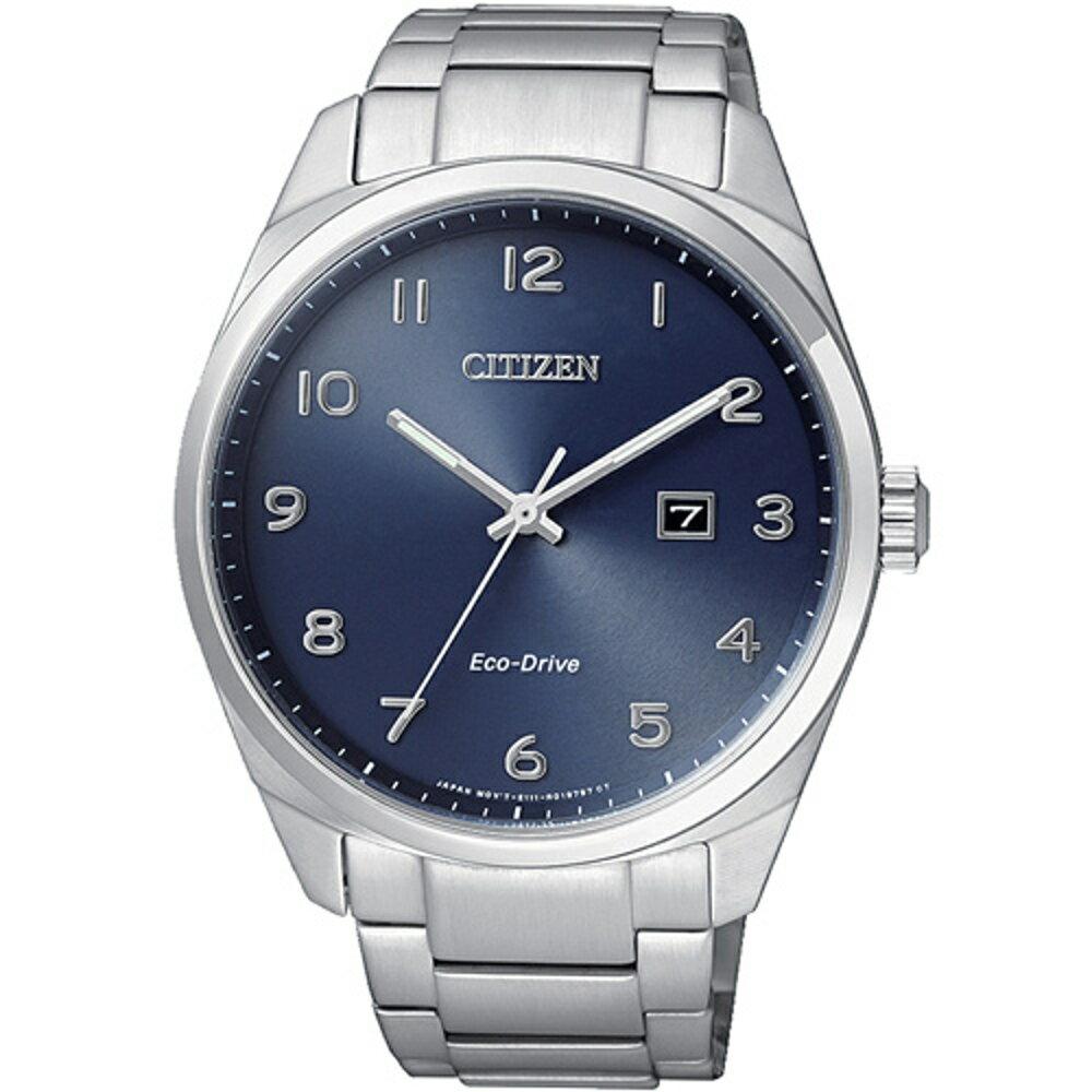 寶時鐘錶 星辰 CITIZEN Eco-Drive 光動能紳士時尚腕錶 BM7320-87L